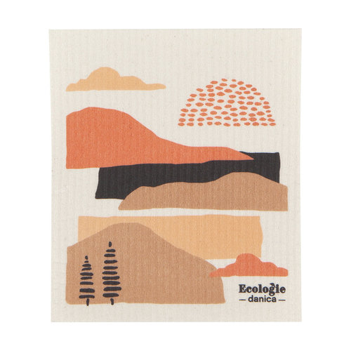 Terra Print Sponge Cloth