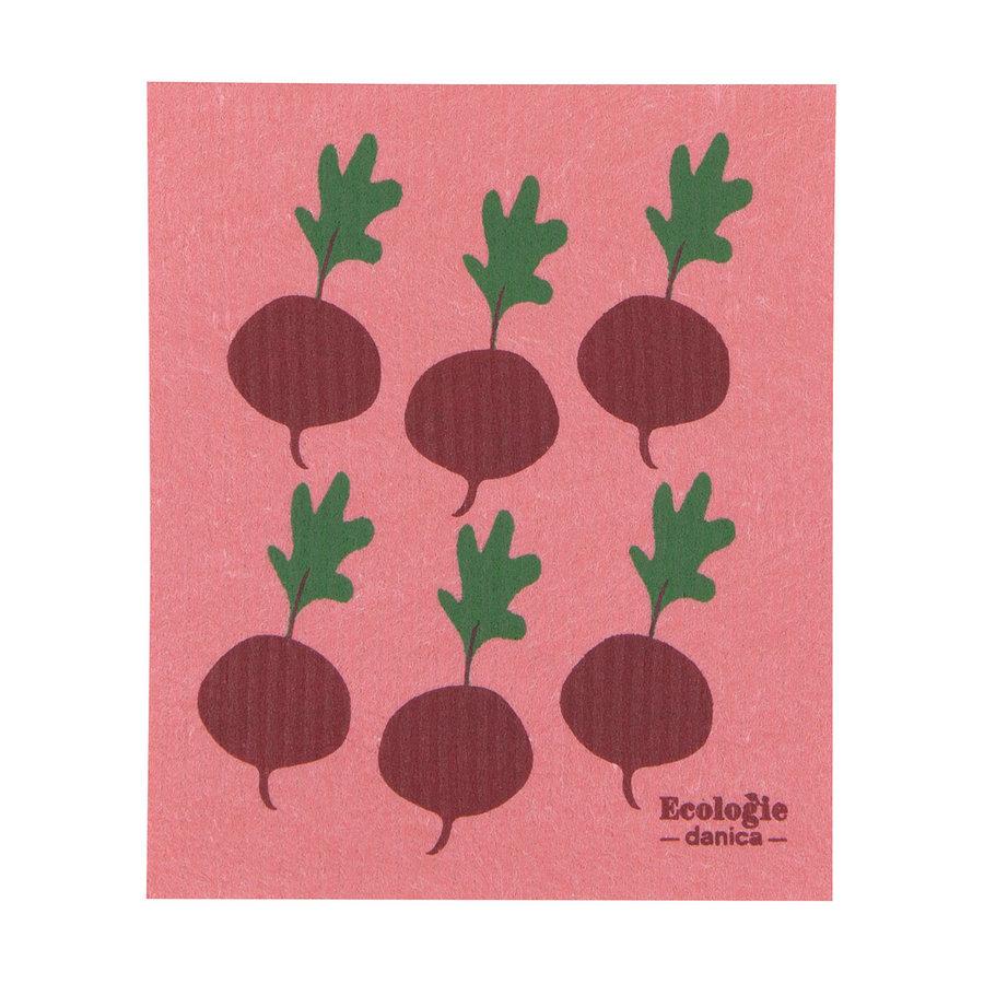 Essuie-tout en éponge radis - Photo 0