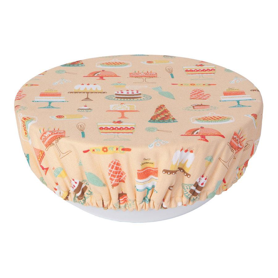 Couvre-bols à imprimé gâteaux - Photo 1