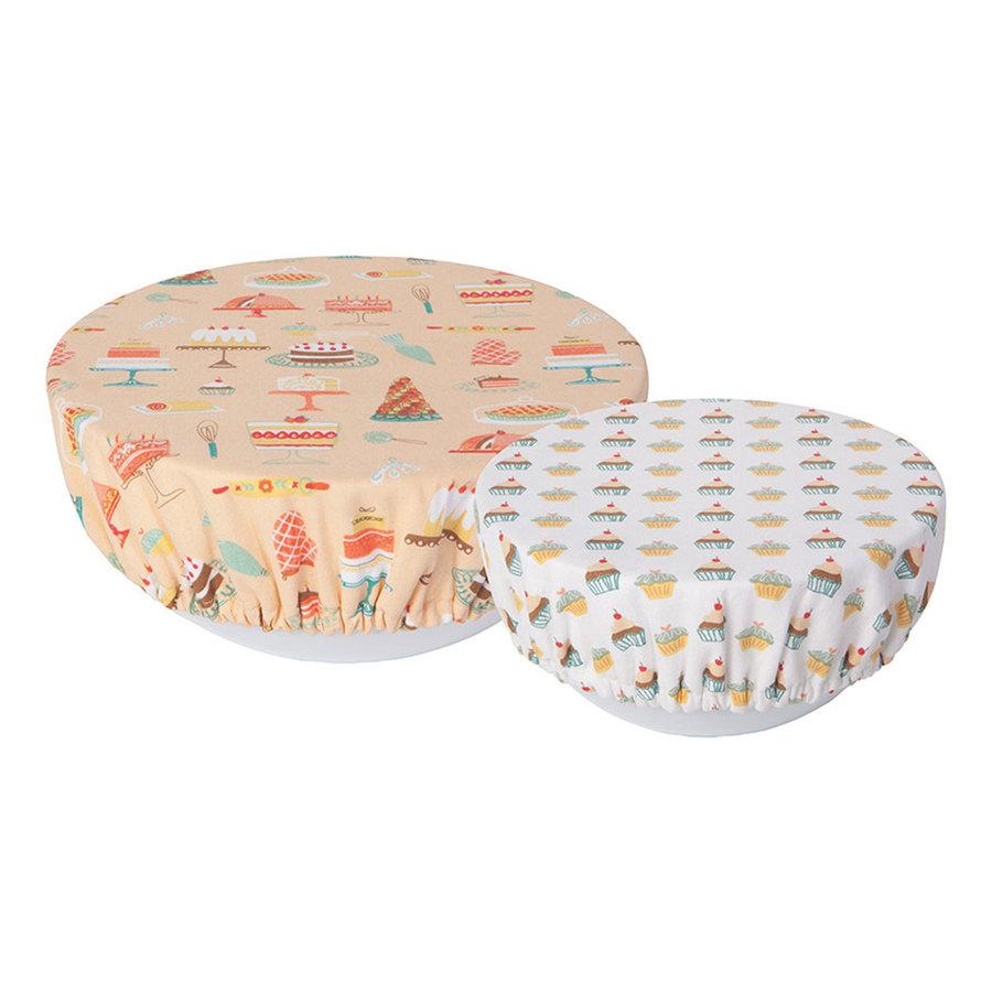 Couvre-bols à imprimé gâteaux - Photo 0
