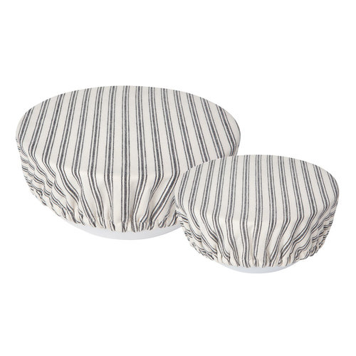 Striped Ticking Bowl Covers