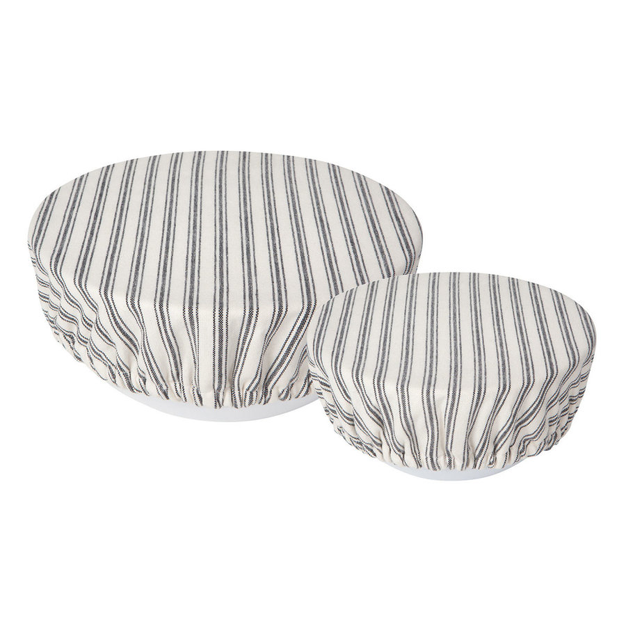 Striped Ticking Bowl Covers - Photo 0