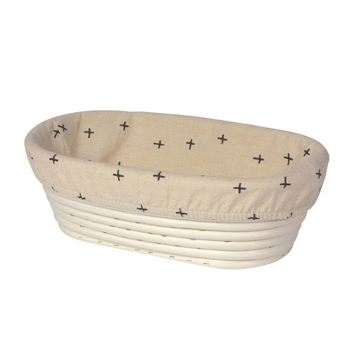 Oval Banneton Bread Proofing Liner