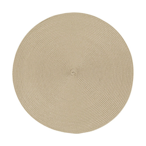 Light Taupe Round Placemat