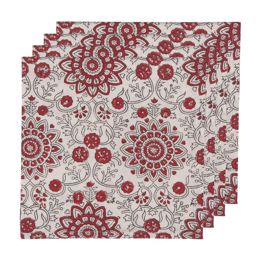 Passionflower Block Woven Napkins - Photo 0
