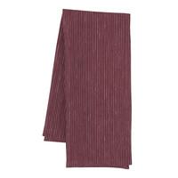 Wine-Colour Linen Dishtowel
