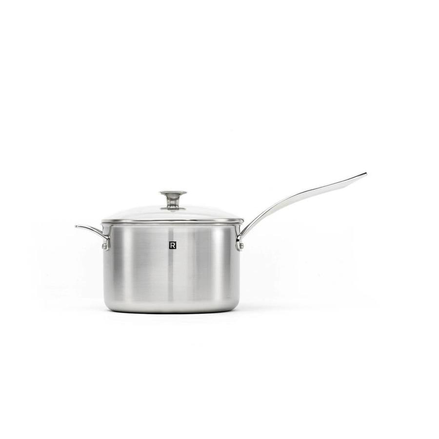 4 litres (4.2 qt) Stainless steel Saucepan - Photo 0
