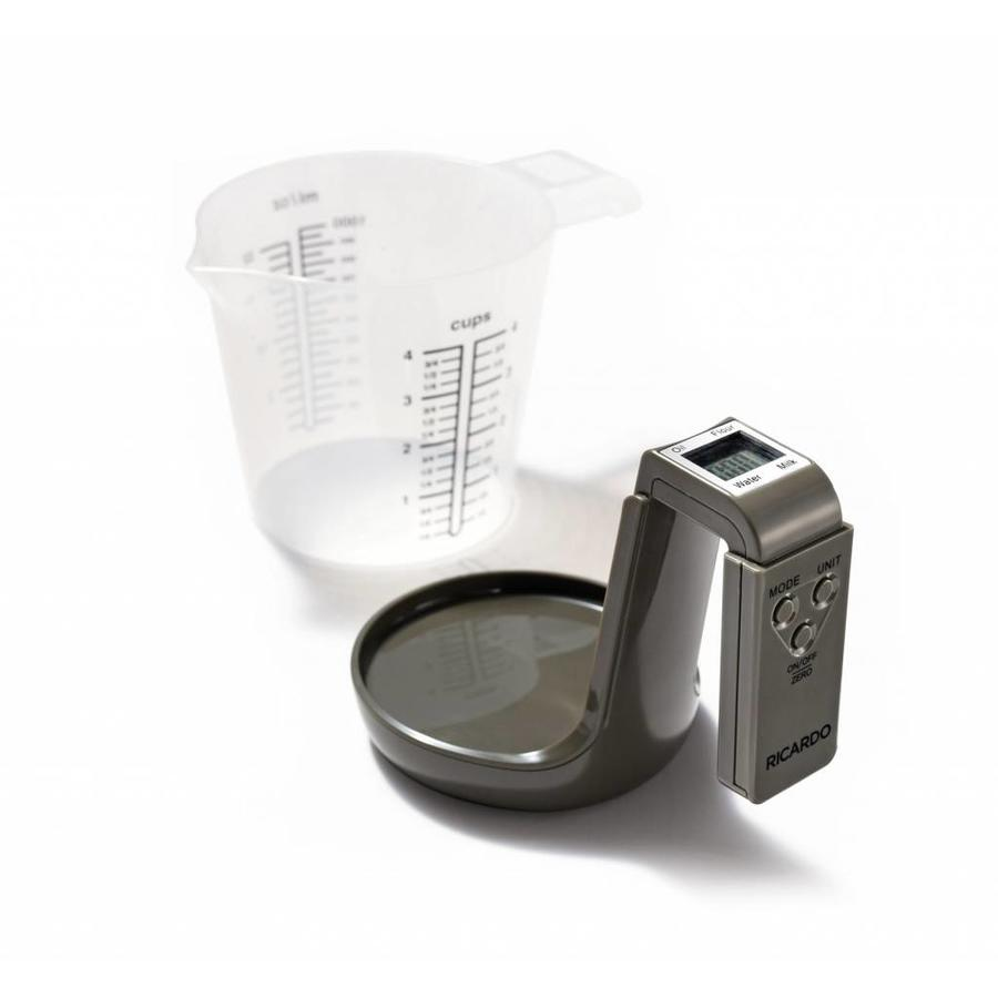 2-in-1 Measuring Cup with Integrated Scale - Photo 0