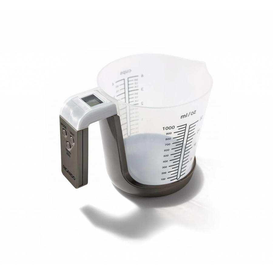 2-in-1 Measuring Cup with Integrated Scale - Photo 1