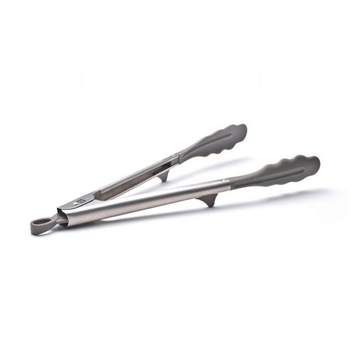 Stainless Steel and Nylon Tongs
