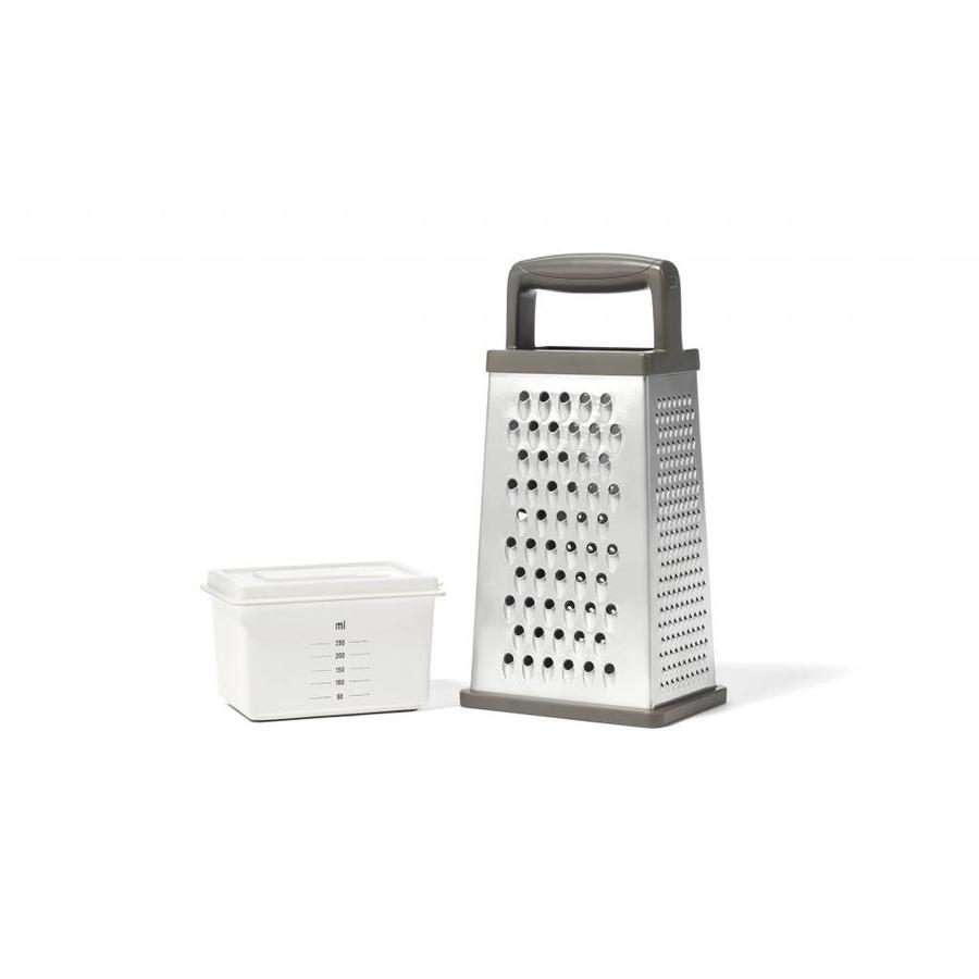 4-Sided Stainless Steel Grater - Photo 0