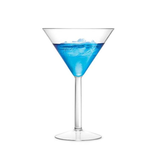 Shatter-resistant Martini Glasses Set