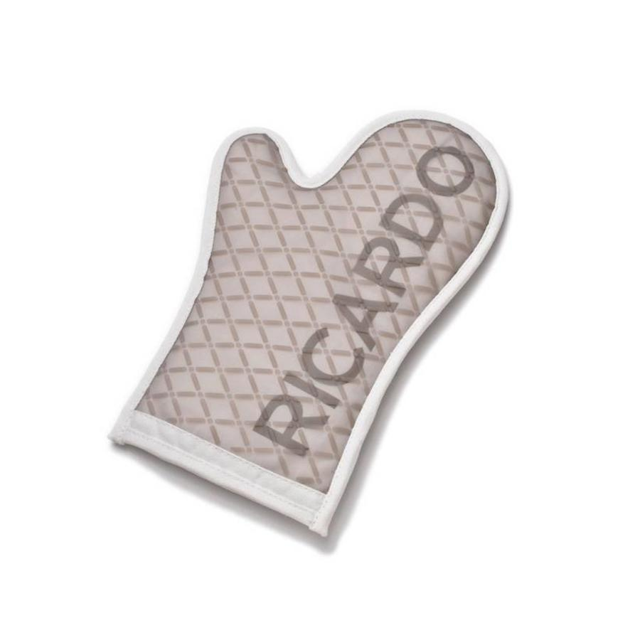 Beige Silicone Oven Mitt - Photo 0