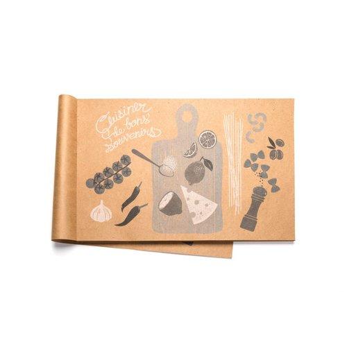 Napperons de papier «Cuisinerdebonssouvenirs»