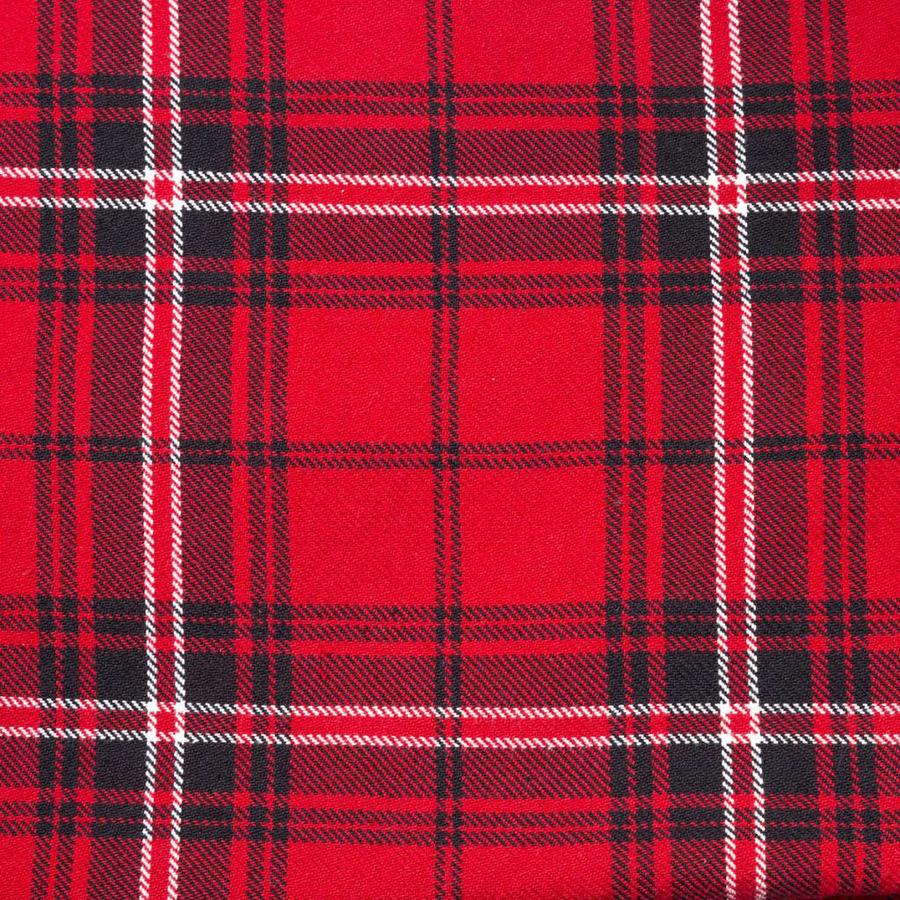 Red Checkered Tablecloth - Photo 1