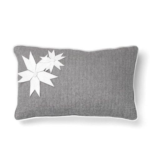 Cushion with Herringbone Pattern