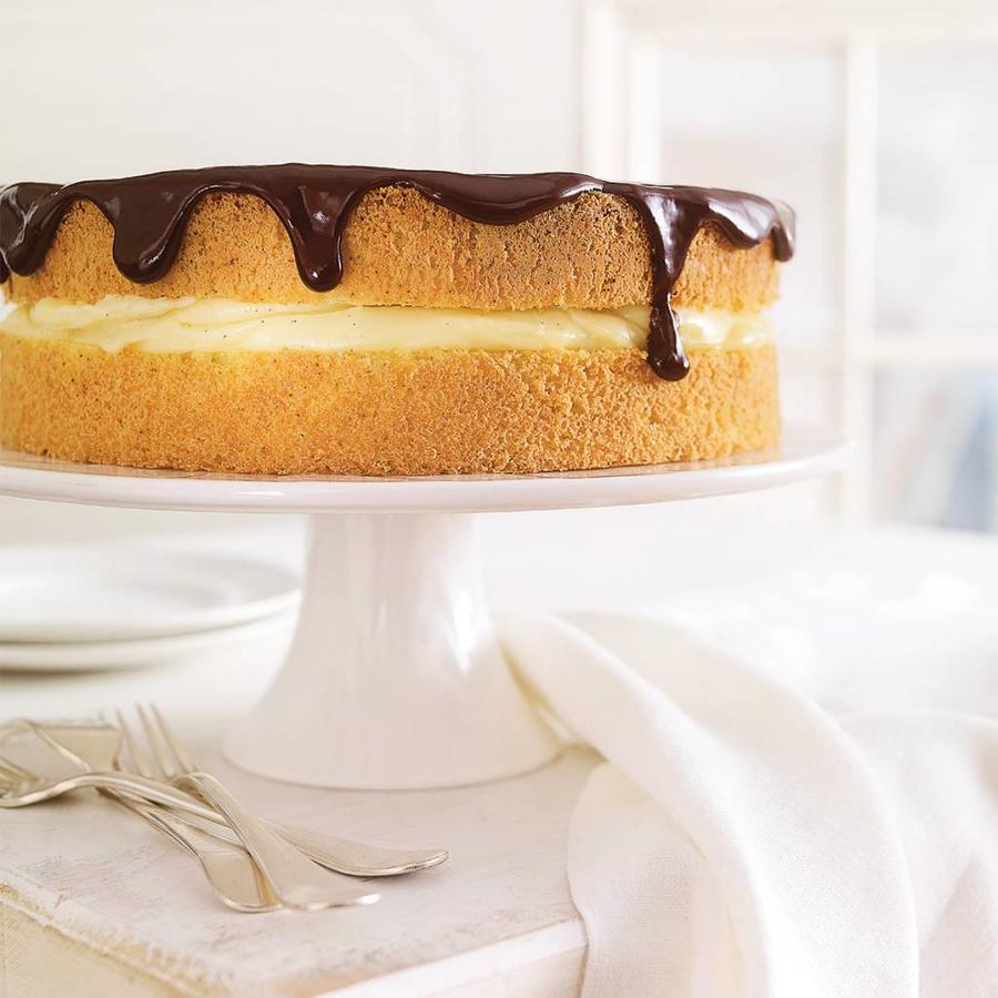 Assiette à gâteau sur pied «Pure» - Photo 1