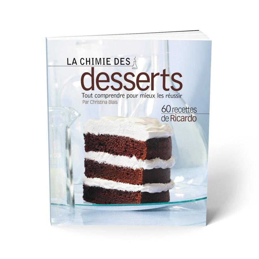 <i>La Chimie des desserts</i> Book (French Version) - Photo 0