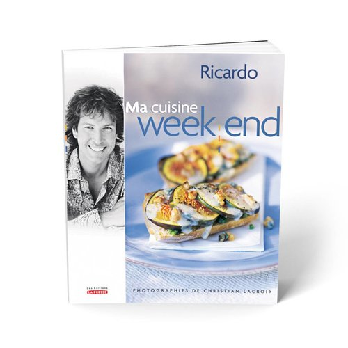 Livre <i>Ma cuisine week-end</i>
