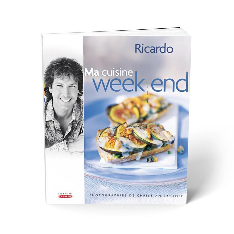 Livre <i>Ma cuisine week-end</i> - Photo 0