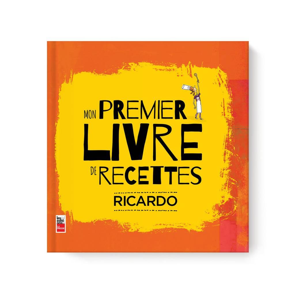Mon Premier Livre De Recettes Ricardo Book French Version