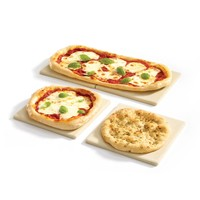 Set of 4 Square Pizza Stone