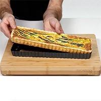 Moule à tarte rectangulaire