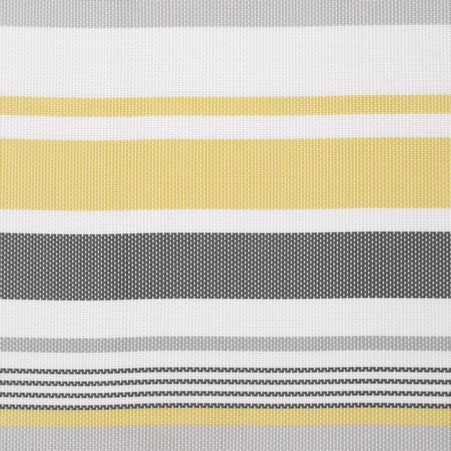 Placemat with yellow and grey stripes - Photo 1