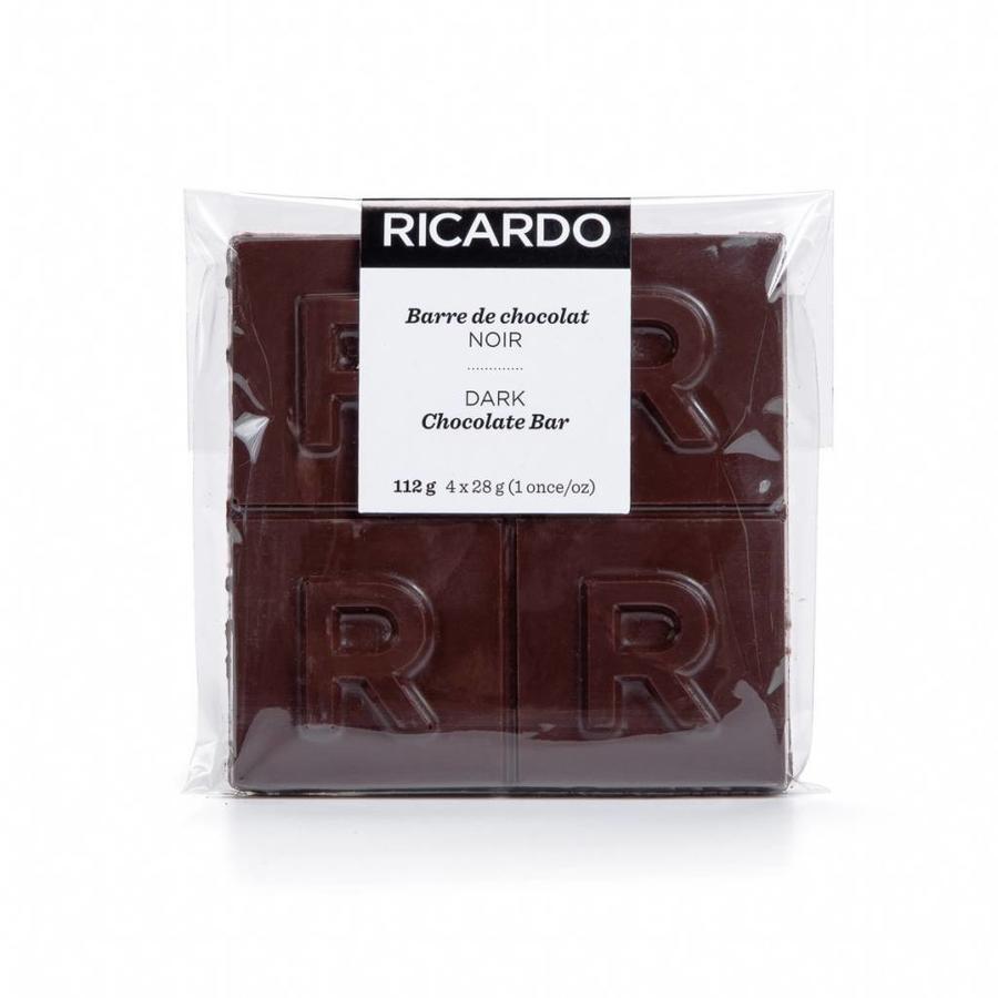 Grande barre de chocolat noir de 112 g - Photo 1