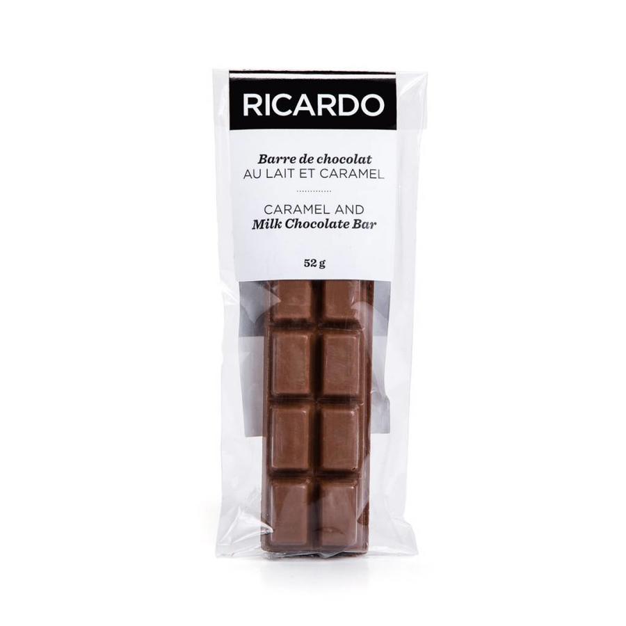 Barre de chocolat au lait et caramel de 52 g - Photo 1