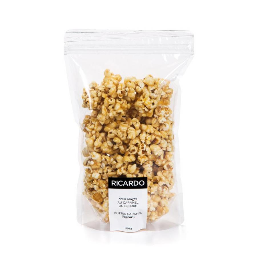 Butter caramel popcorn, 250 g bag - Photo 0