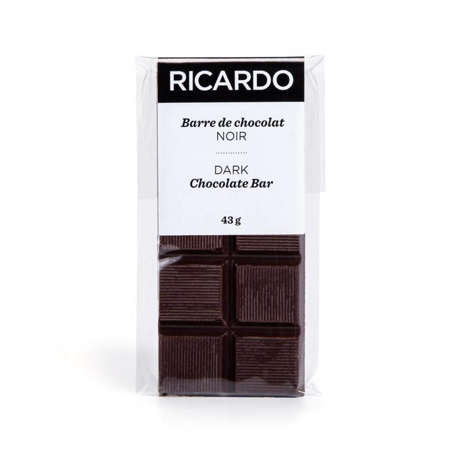 Petite barre de chocolat noir de 43 g - Photo 1