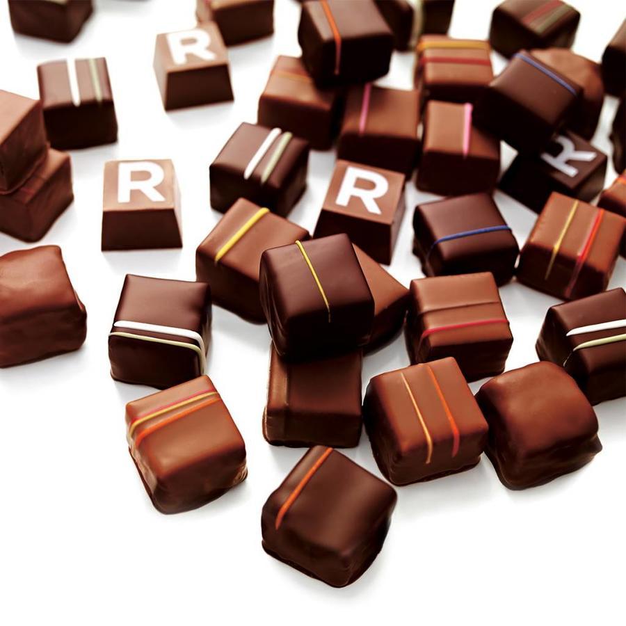 Assorted box of 6 chocolates - Photo 2