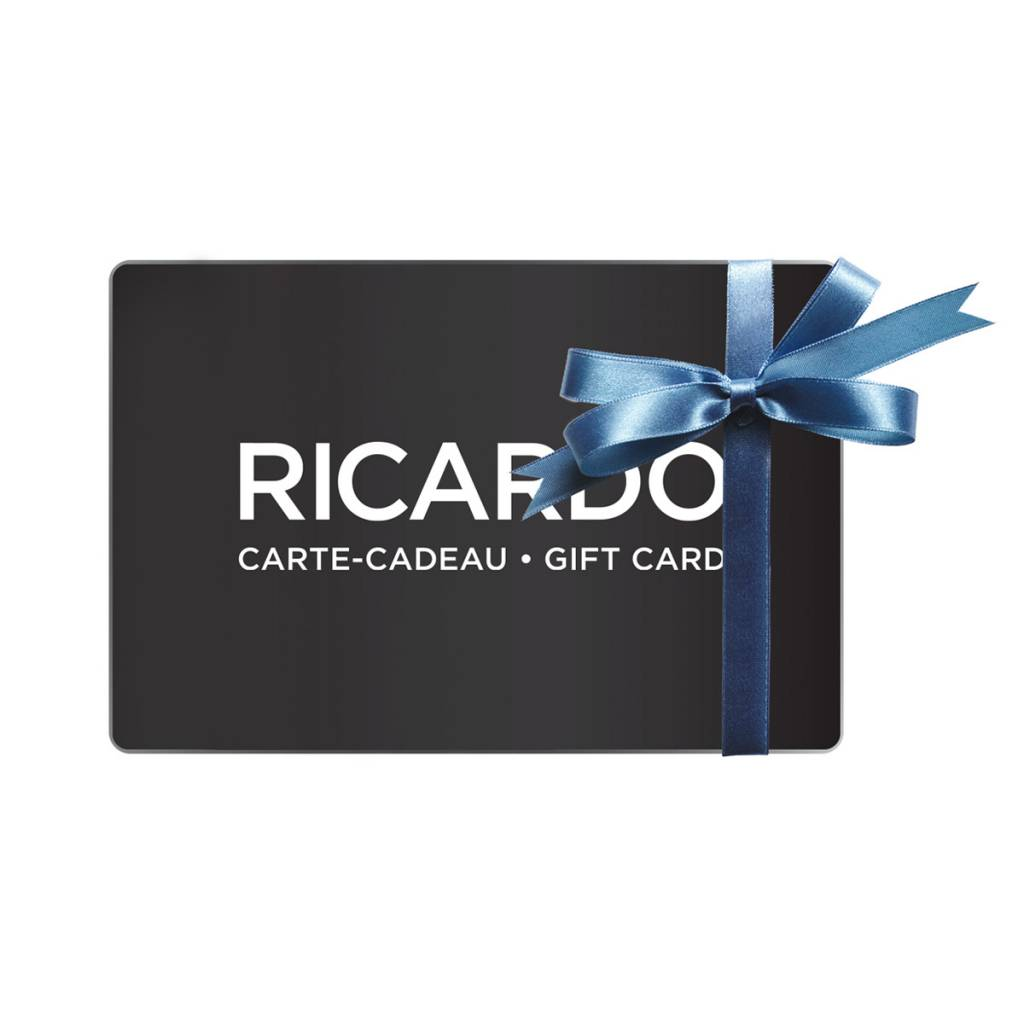 Carte Cadeau Boutique Ricardo