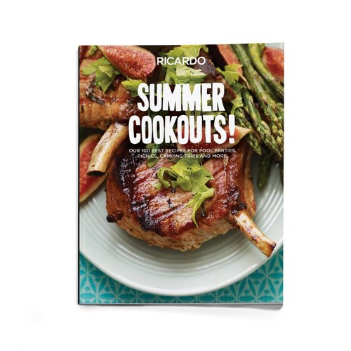 Magazine hors-série <i>Summer Cookouts!</i> (version anglaise)