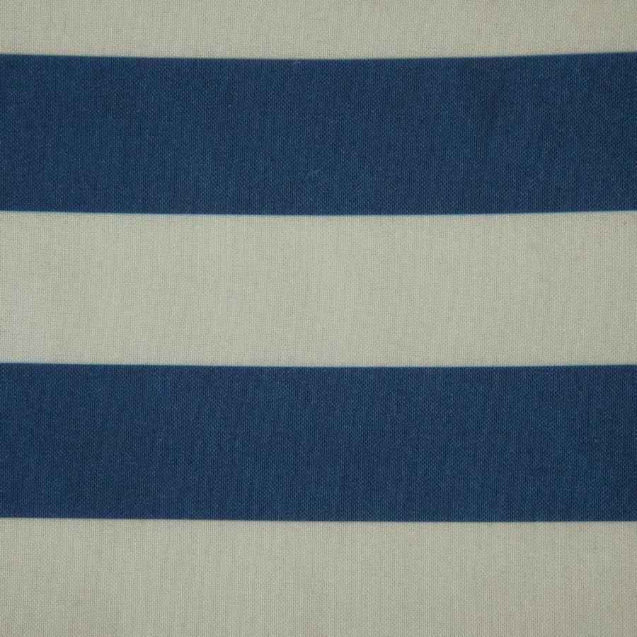 Nappe à rayures tissées en polyester - Photo 1