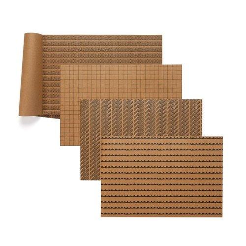 Napperons de papier aux motifs variés