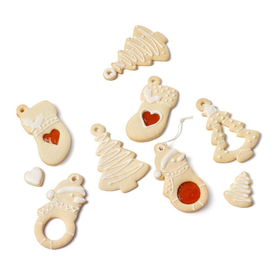 Set of 3 Reversible Holiday Cookie Cutters - Photo 1