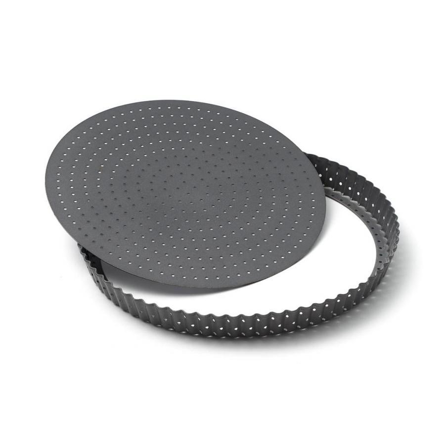 Moule à quiches et à tartes perforé de 28 cm (11 po) - Photo 0