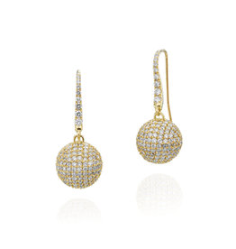 Zora Globe Earrings