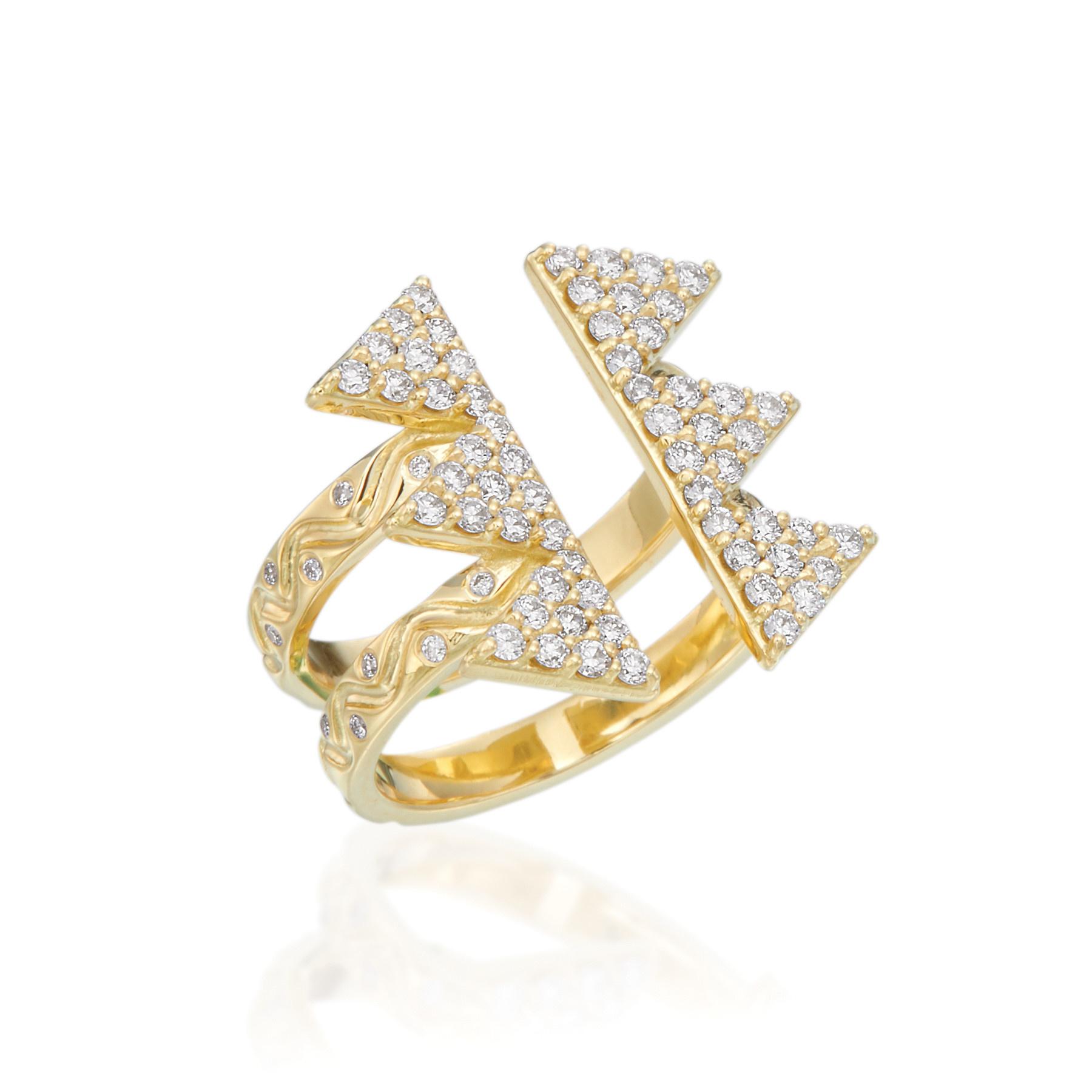 Zora Triple Unity Ring