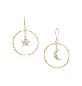 Misahara Night Sky Earrings