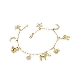 Misahara Serengeti Charm Bracelet