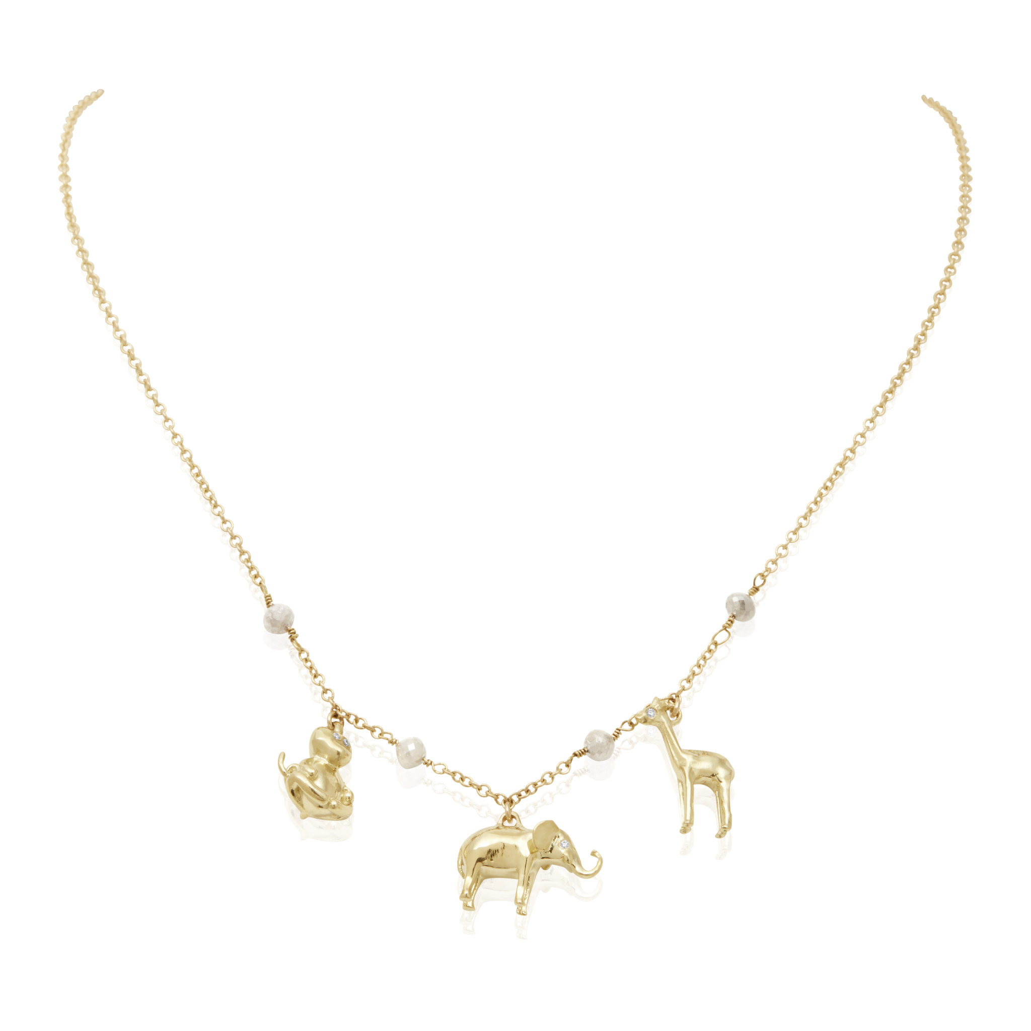 Misahara Serengeti Charm Necklace