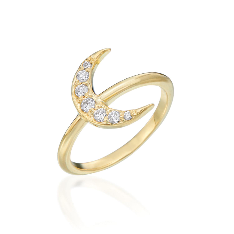 Misahara Moon Ring