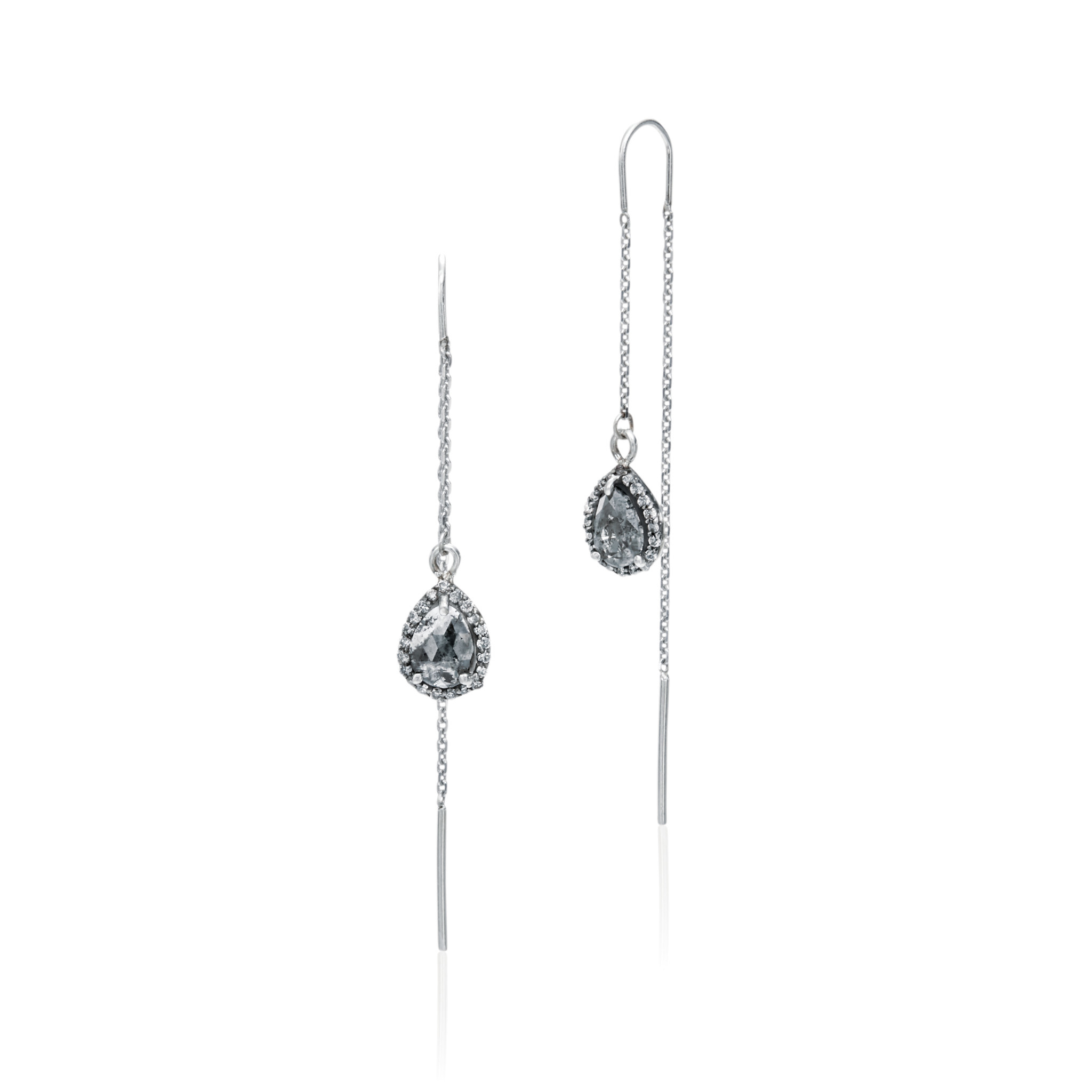 Misahara Midnight Ice Earrings