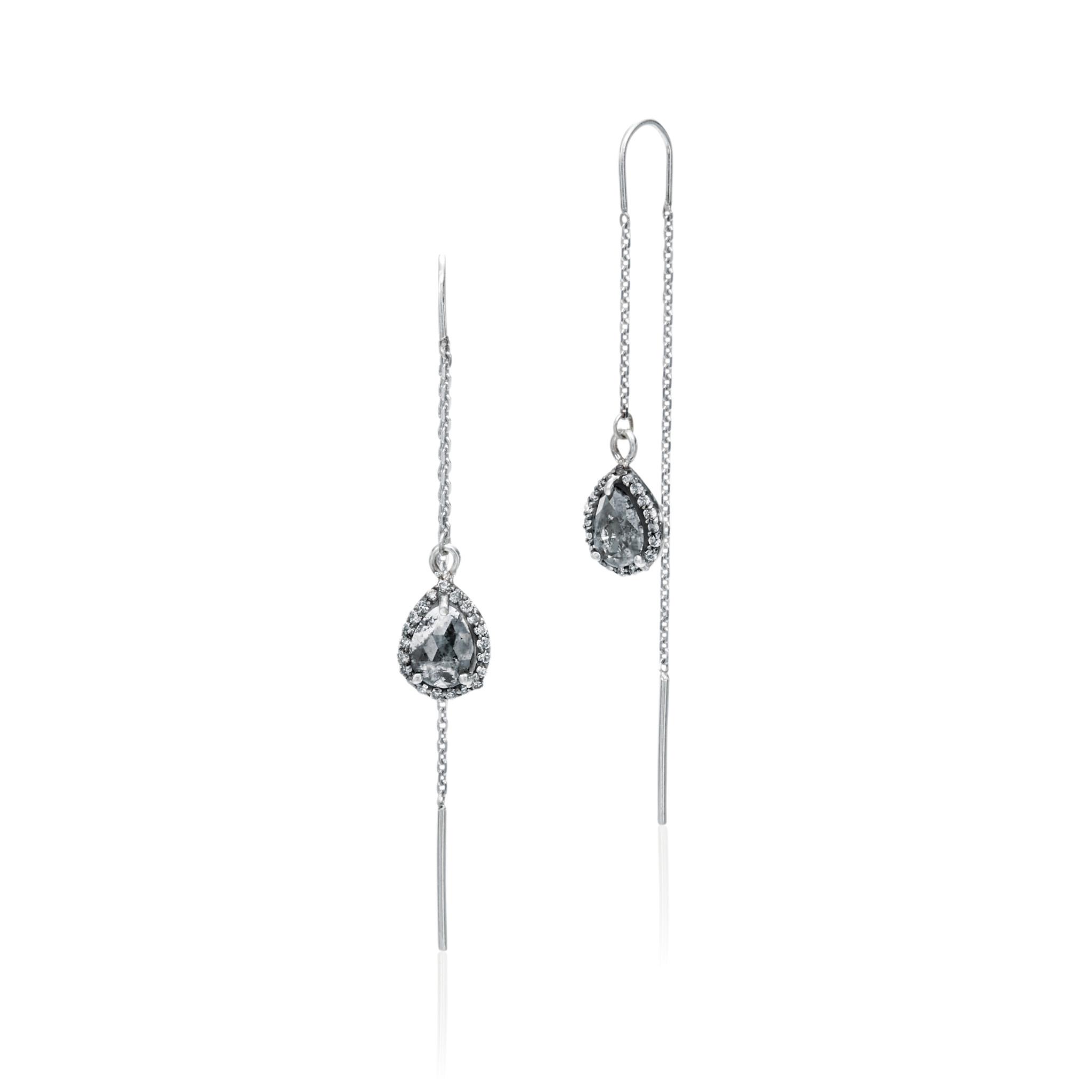 Misahara Midnight Ice Earrings