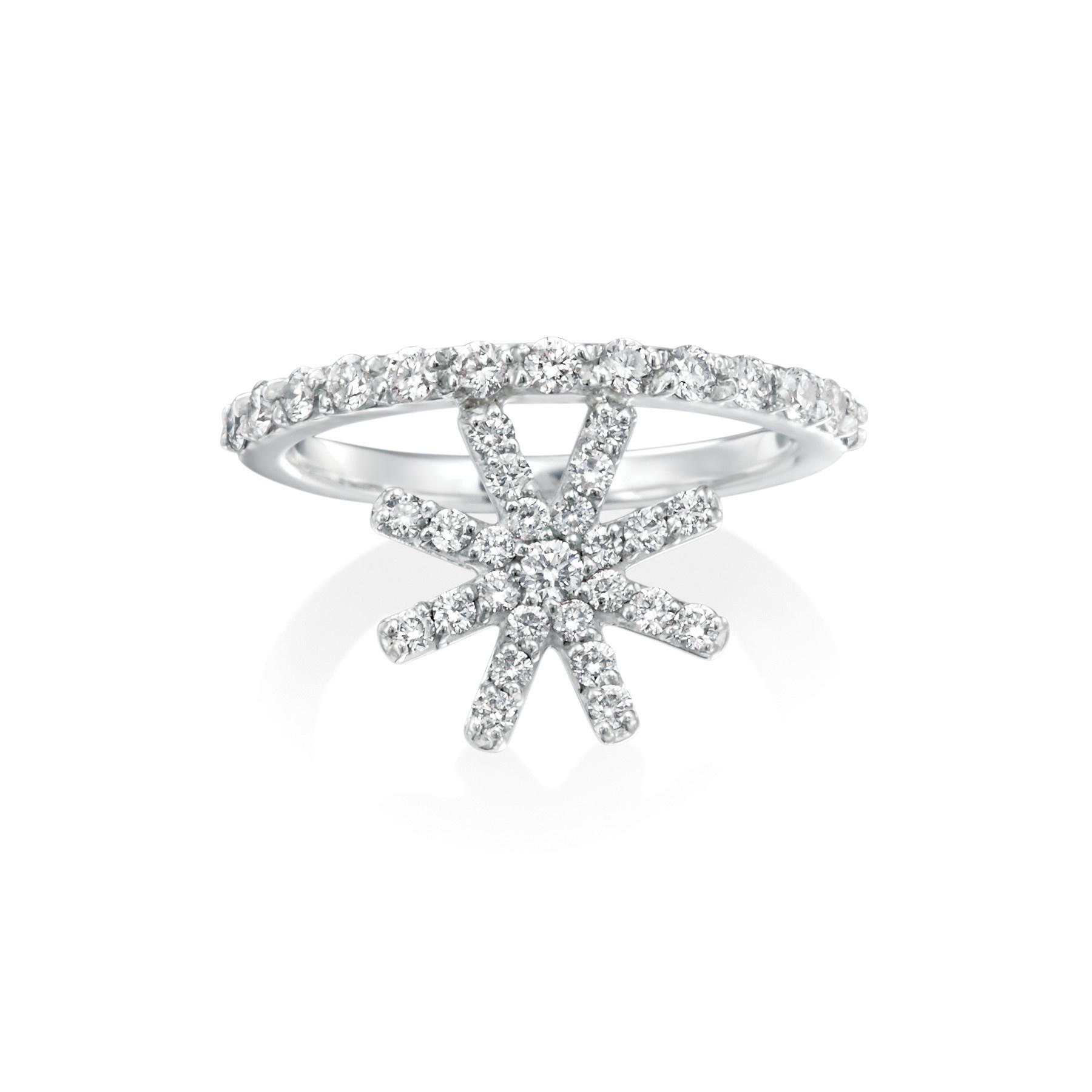 Misahara Starburst Ring