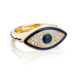 Misahara Misahara Eye Signet Ring