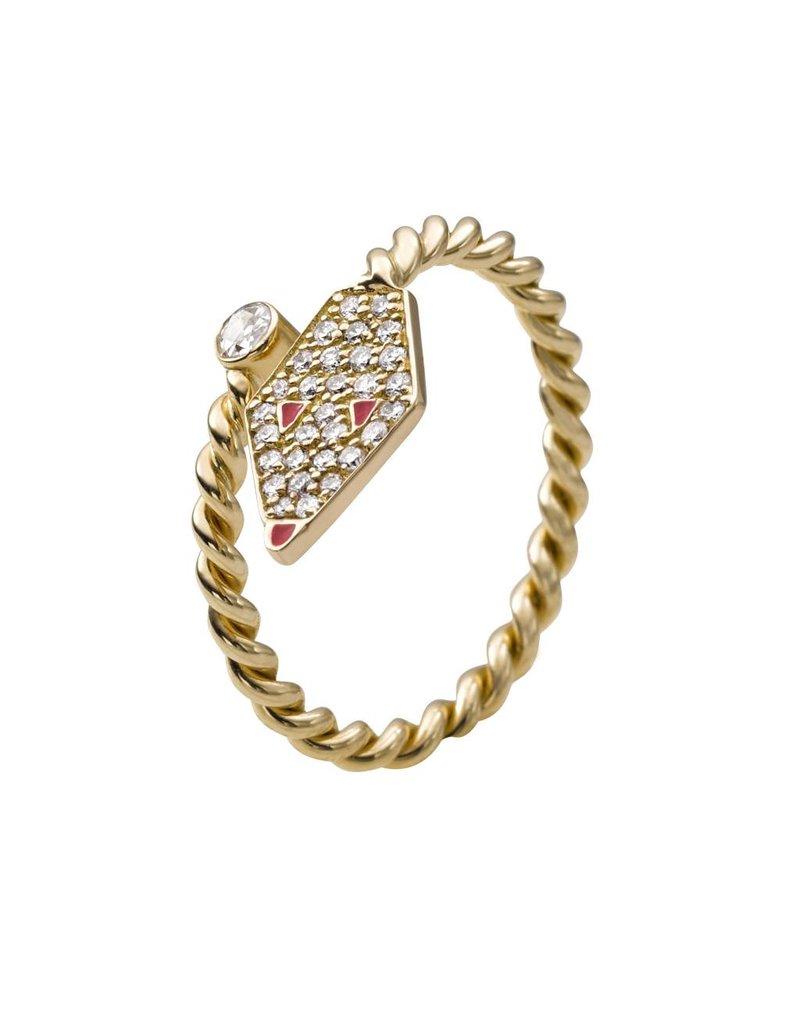 Misahara Drina Coil Ring
